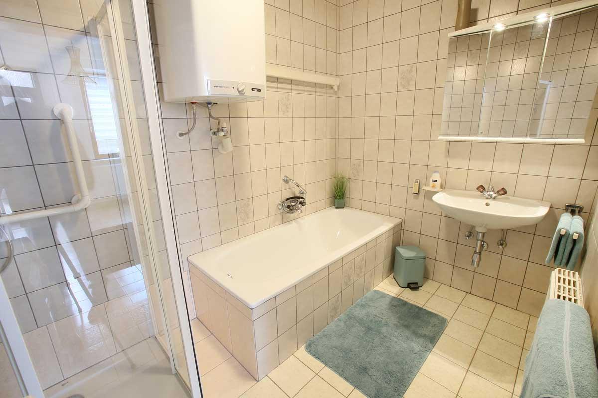 Müllner Apartment Badezimmer