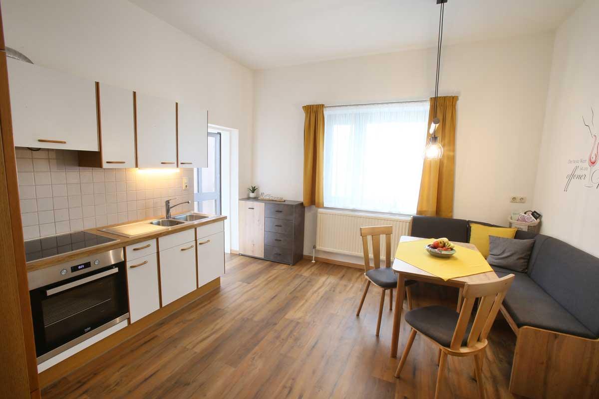 Müllner Apartment Küche
