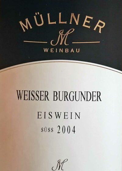Flaschenfoto Weißer Burgunder Eiswein