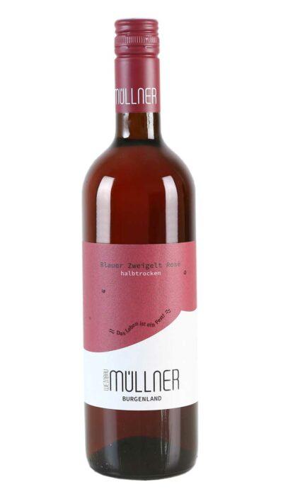 Flaschenfoto Zweigelt Rosé halbtrocken